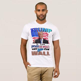 T-shirt L'ATOUT EST VOTRE PRÉSIDENT ! Obtenez au-dessus du