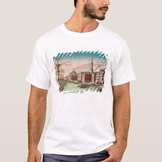 T-shirt L'atterrissage des troupes anglaises à New York