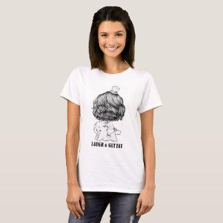 T-SHIRT LAUGH & GET FAT Tシャツ