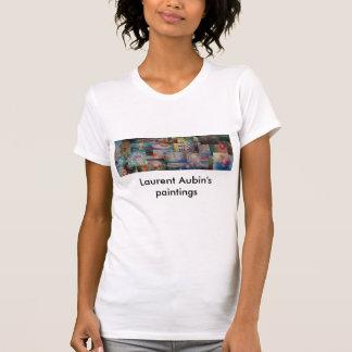 T-shirt , Laurent Aubin's paintings