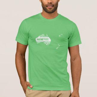 T-shirt L'Australie, la Nouvelle Zélande et les Fidji dans