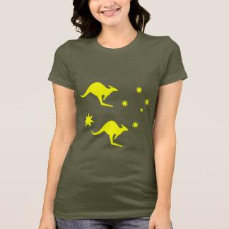 T-shirt L'Australie Roo et croix