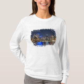 T-shirt L'Australie, Sydney. Horizon avec le théatre de