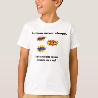 T-shirt L'autisme ne dort jamais