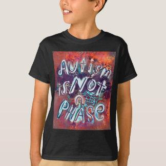 T-shirt L'autisme n'est pas une phase