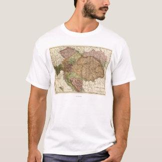 T-shirt L'Autriche-HungaryPanoramic MapAustria-Hongrie