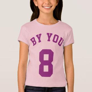 T-shirt Lavande et conception du Jersey de sports des