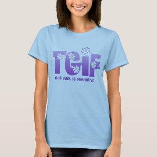 T-shirt Lavande fantastique de fille de TGIF