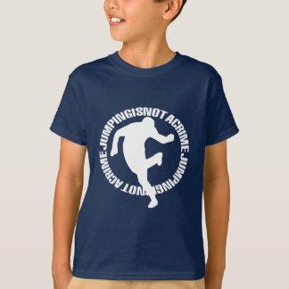 T-shirt L'avant de style de Jumpstyle et le CAPP