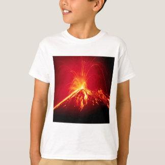 T-shirt Lave chaude de volcan Costa Rica 1991