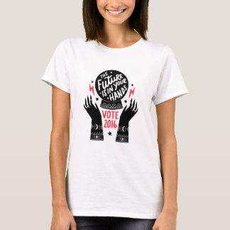T-shirt L'avenir est dans des vos mains