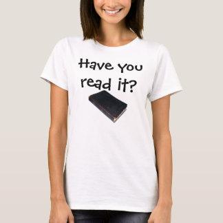 T-shirt L'avez-vous lu ? Il Vie-Change ! Écriture sainte