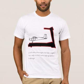 T-shirt L'avion sur un tapis roulant…