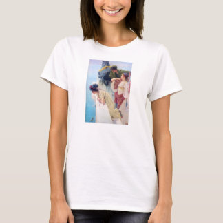 T-shirt Lawrence Alma Tadema un Coign d'avantageux