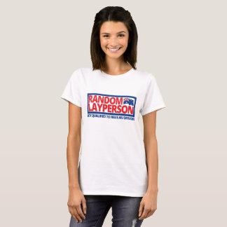 T-shirt Layperson aléatoire (version de drapeau d'Ausie)