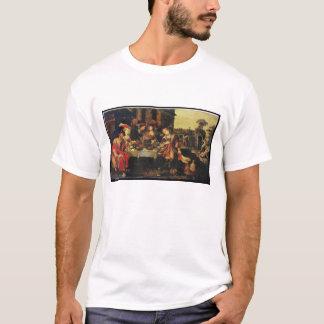 T-shirt Lazarre au Tableau d'homme riche, 1618 (huile sur