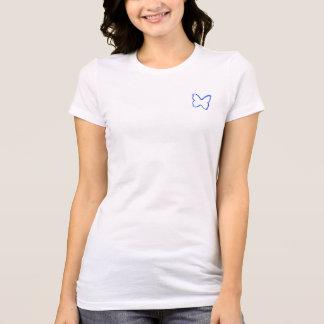 T-shirt Le 2x de petite taille des femmes d'ÉTREINTE