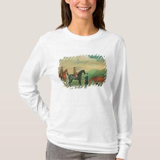 T-shirt Le 4ème seigneur Craven courant au parc d'Ashdown
