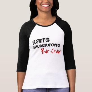 T-shirt Le bachelorette de Kari