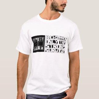T-shirt Le backgammon survivent
