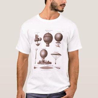 T-shirt Le ballon à air chaud historique conçoit l'image