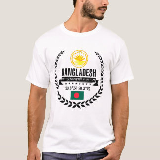 T-shirt Le Bangladesh