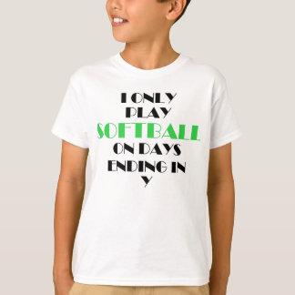 T-shirt Le base-ball chaque vert de jour