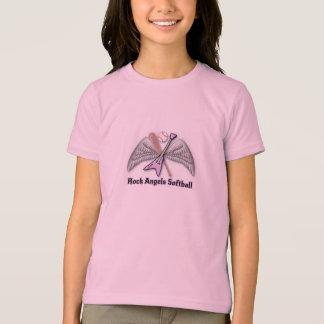 T-shirt Le base-ball d'anges de roche