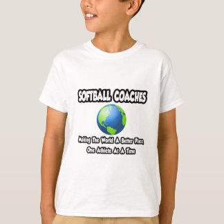 T-shirt Le base-ball donne des leçons particulières… à