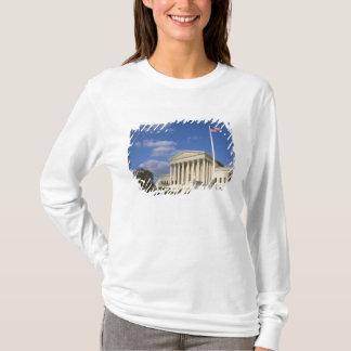 T-shirt Le bâtiment de court suprême des Etats-Unis dedans