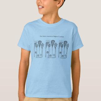 T-shirt Le bâton prisé de lacrosse