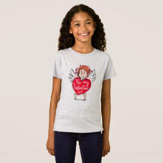 T-Shirt Le beau cupidon soit ma chemise de Valentine |