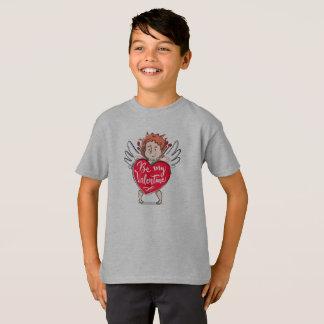 T-shirt Le beau cupidon soit ma chemise de Valentine