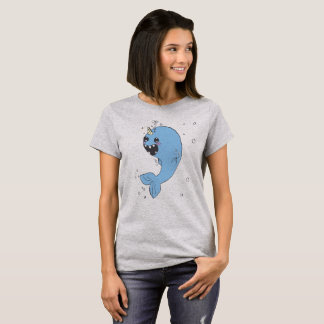 T-shirt Le beau Narwhal
