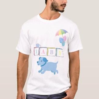T-shirt Le bébé d'AB/Adult bloque la chemise