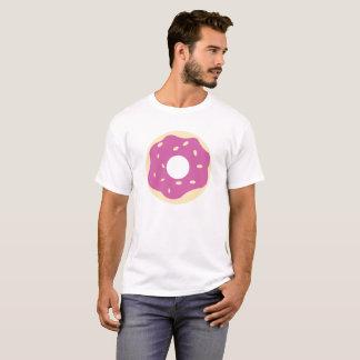 T-shirt Le beignet pourpre de bande dessinée avec arrose