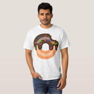T-shirt Le beignet simple du type