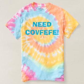 T-shirt LE BESOIN COVFEFE ! colorant en pastel drôle de