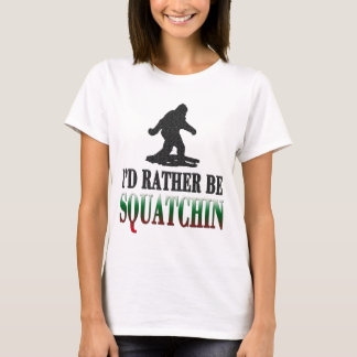 T-shirt Le *BEST VERSION* je serais plutôt Squatchin,