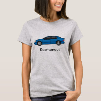 T-shirt le bleu cosmique des kosmonaut 2002