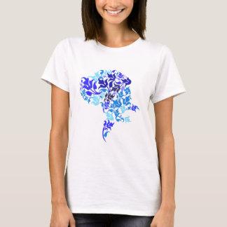 T-shirt Le bleu pousse des feuilles great dane