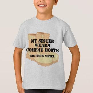T-shirt Le bloc de contrôle de données de soeur de l'Armée
