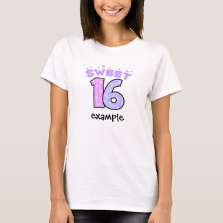 T-shirt Le bonbon 16 - créez vos propres