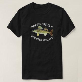 """T-shirt Le """"bonheur drôle est un brochet vairon de gros"""