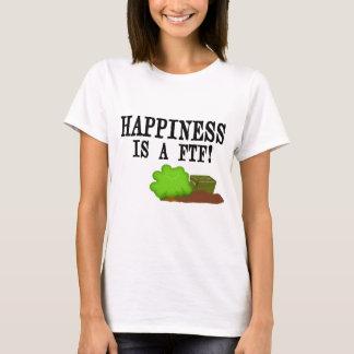 T-shirt Le bonheur est un FTF !