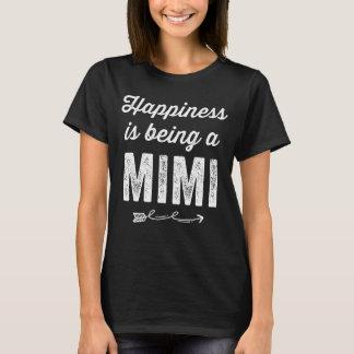 T-shirt Le bonheur est un mimi
