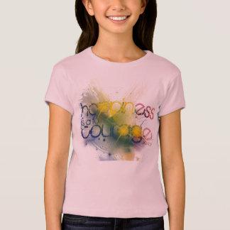 T-shirt le bonheur est une forme de courage