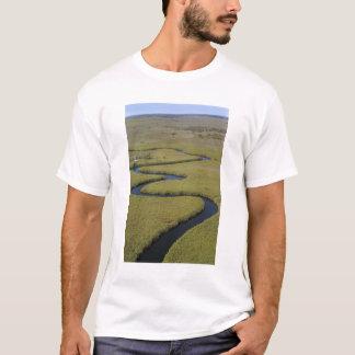T-shirt Le Botswana, Afrique. Rivière d'Okavango de vue