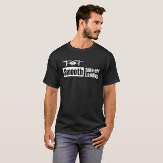 T-shirt Le bourdon lisse enlèvent v1 de débarquement lisse