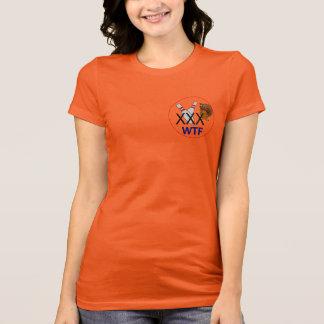 T-shirt Le bowling des femmes pour les dindes (WTF),